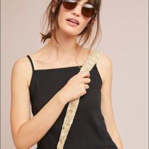 Anthropologie Meadow Rue Pantego Button Tank